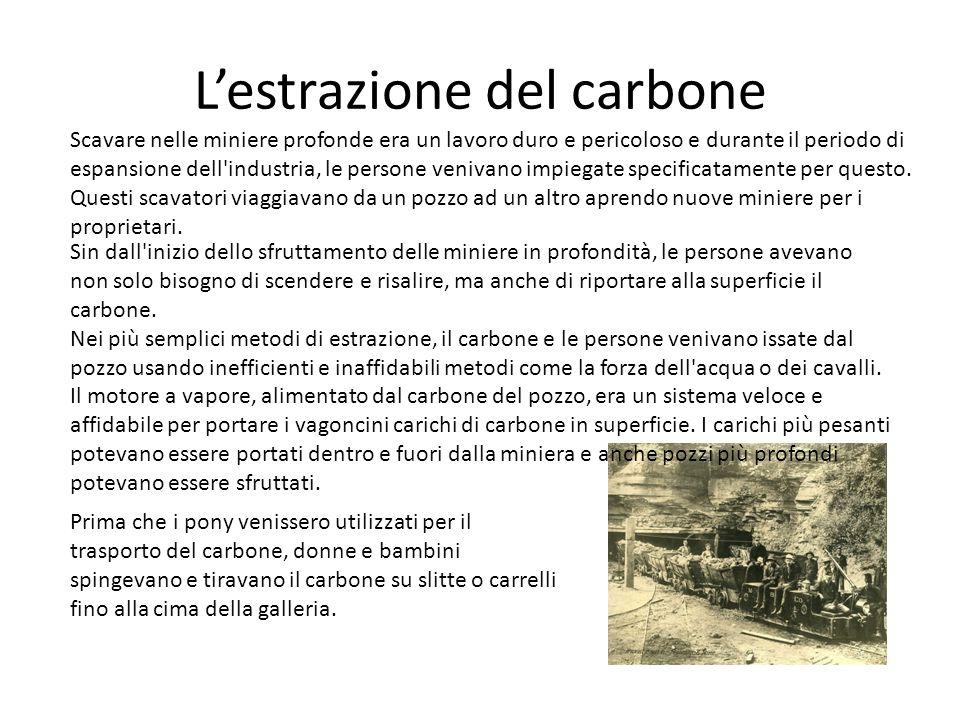 L'estrazione del carbone