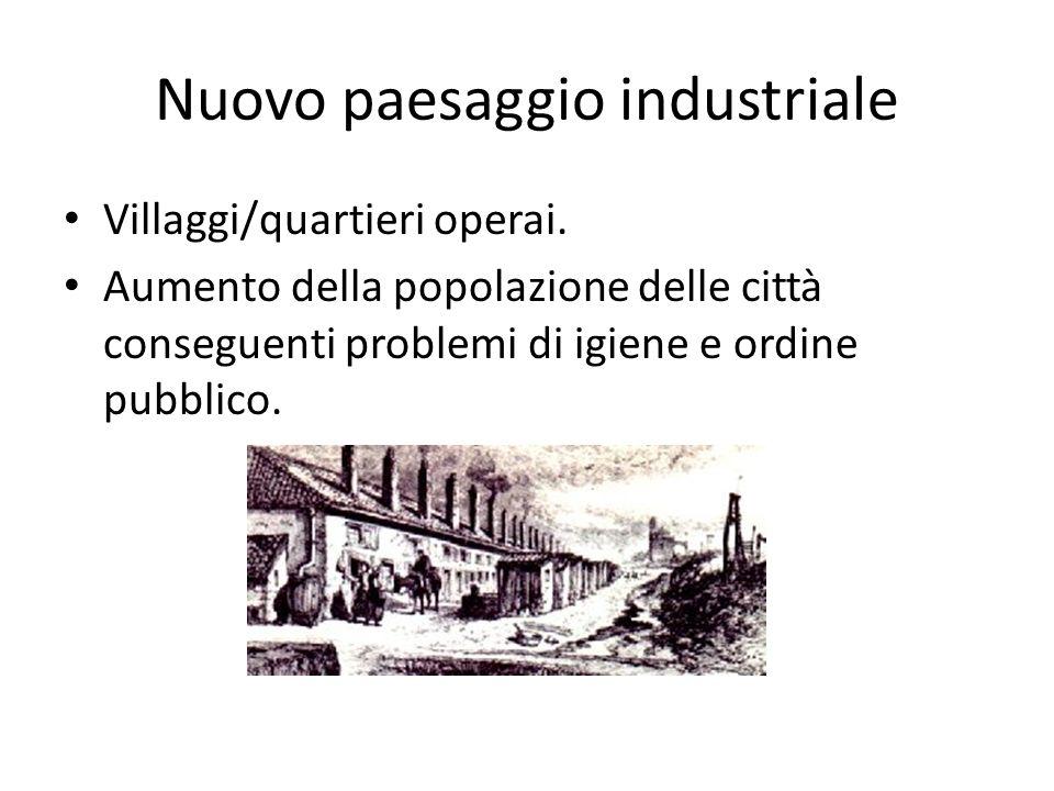 Nuovo paesaggio industriale