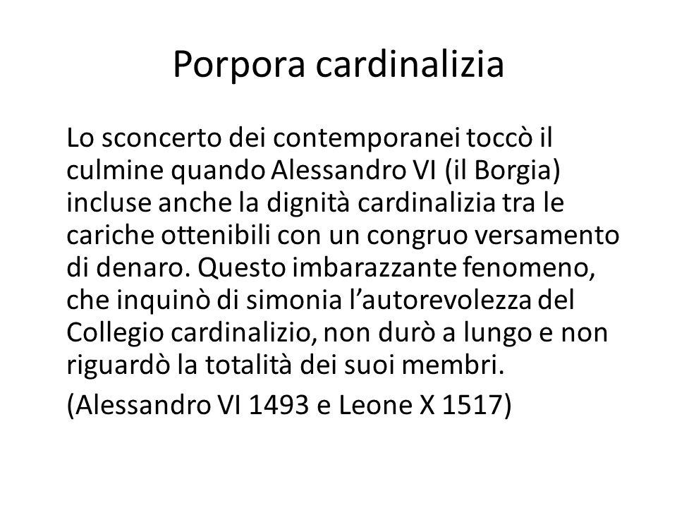 Porpora cardinalizia