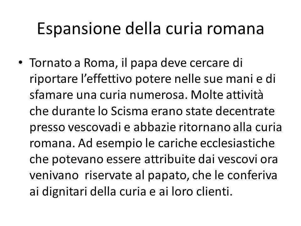 Espansione della curia romana