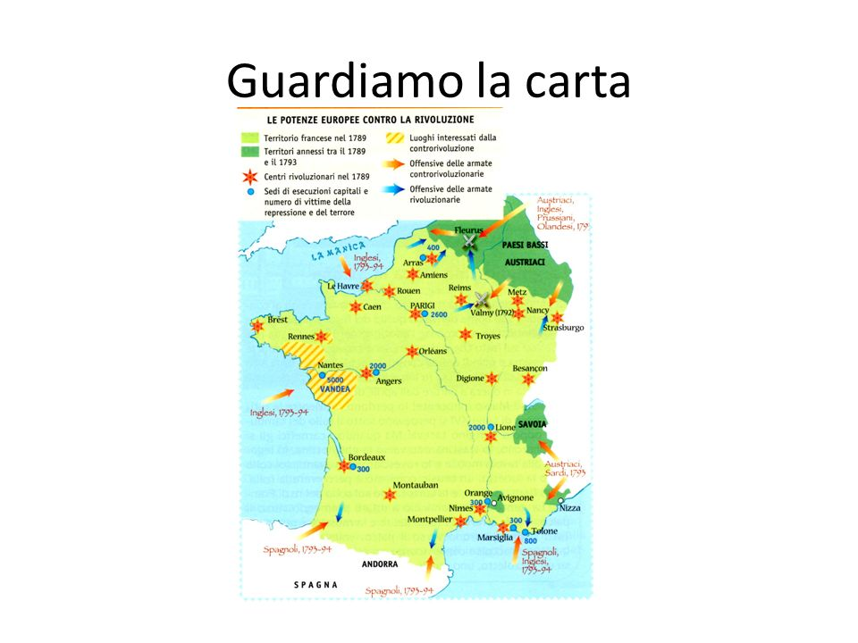 Guardiamo la carta