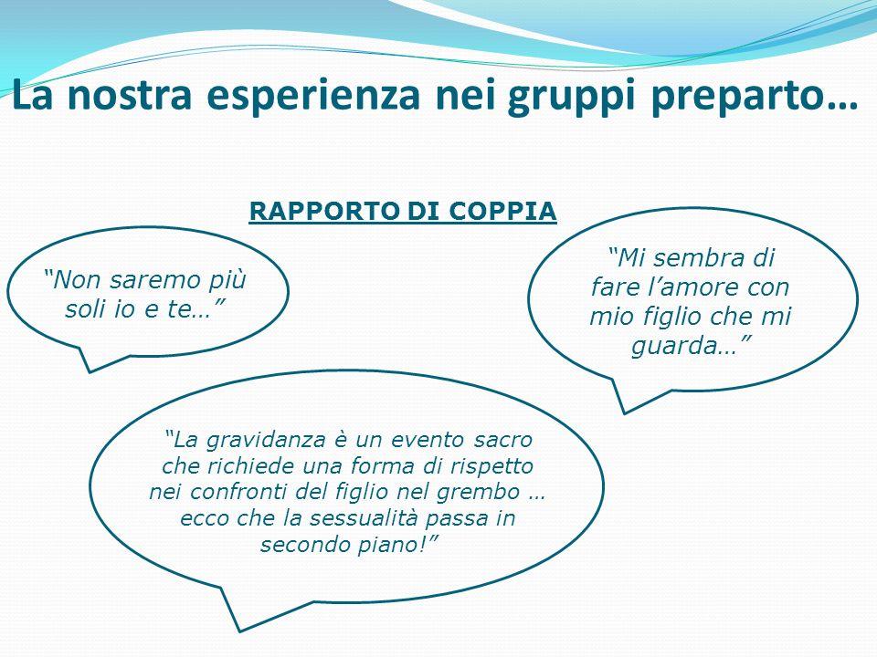 La nostra esperienza nei gruppi preparto…