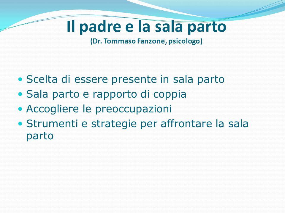 Il padre e la sala parto (Dr. Tommaso Fanzone, psicologo)