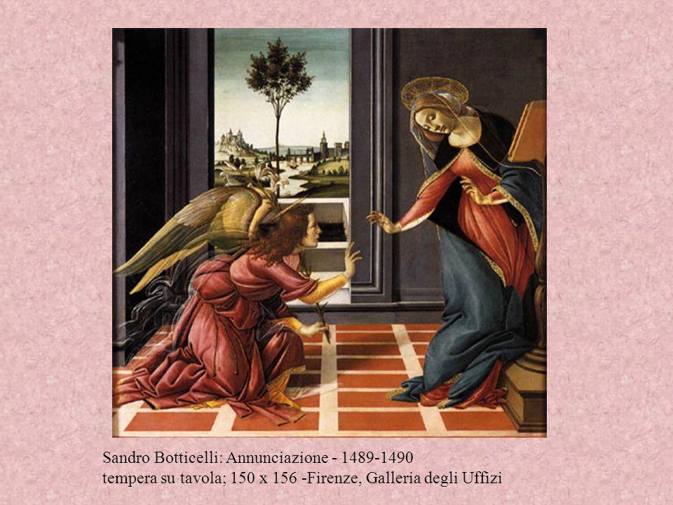 Sandro Botticelli: Annunciazione - 1489-1490