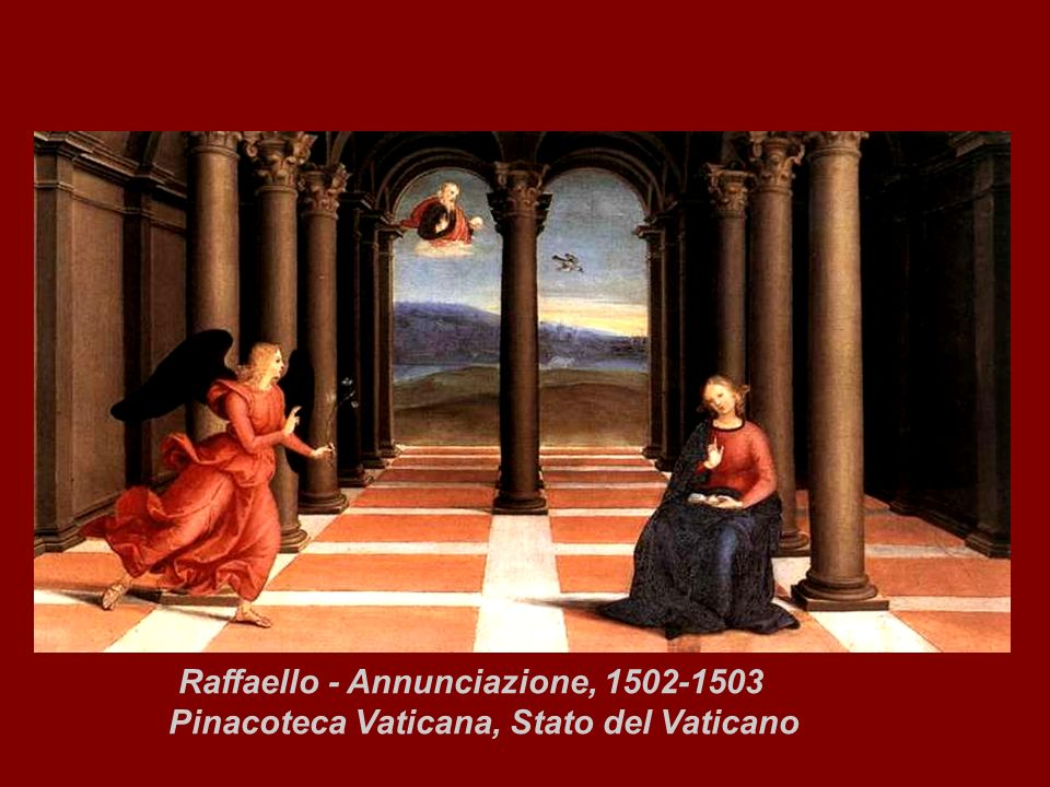 Raffaello - Annunciazione, 1502-1503