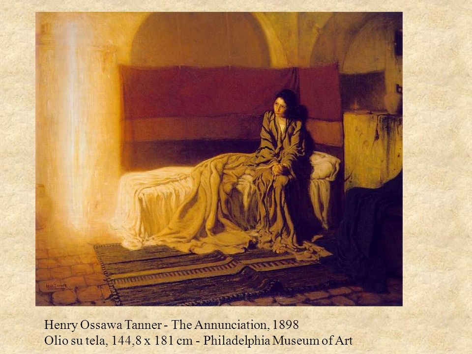 Henry Ossawa Tanner - The Annunciation, 1898