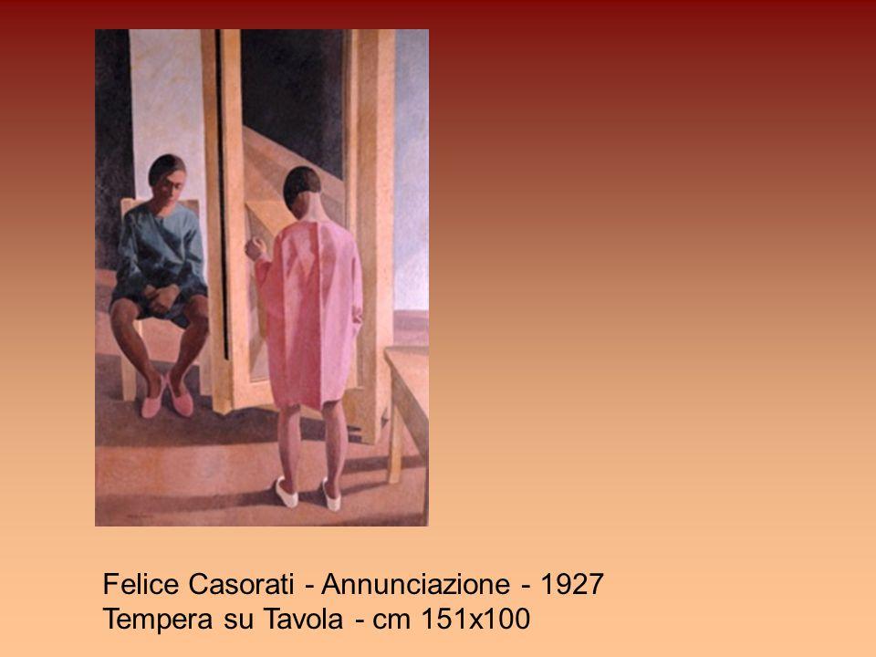 Felice Casorati - Annunciazione - 1927