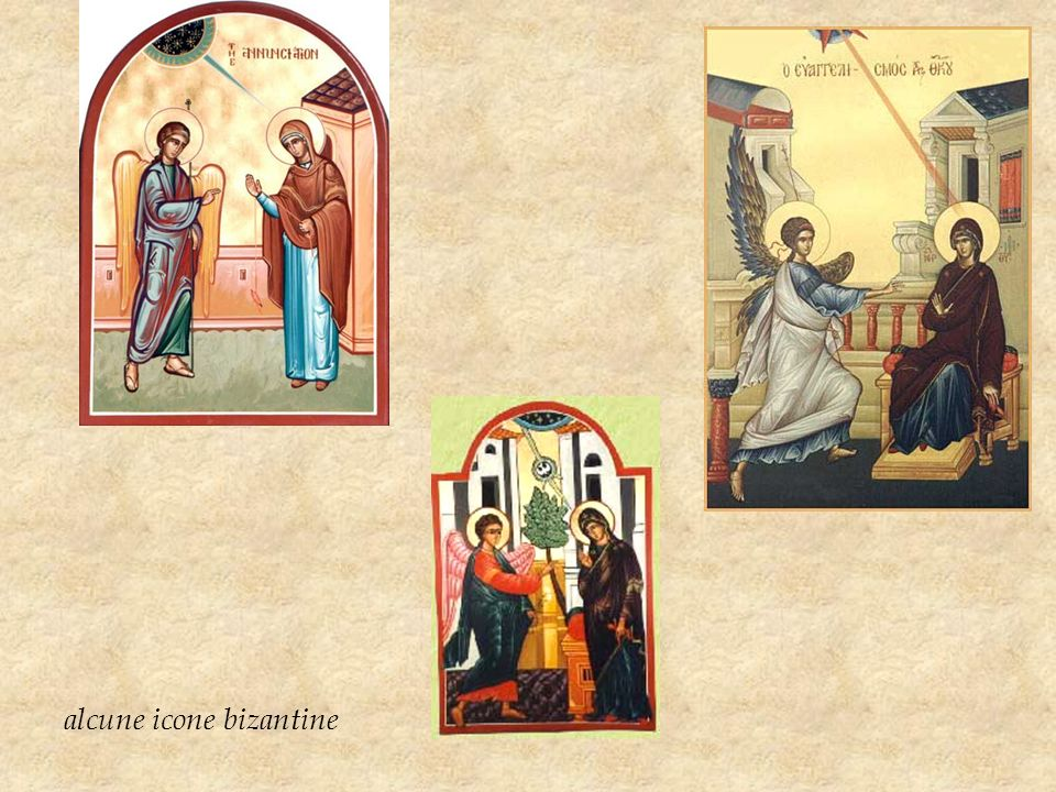 alcune icone bizantine