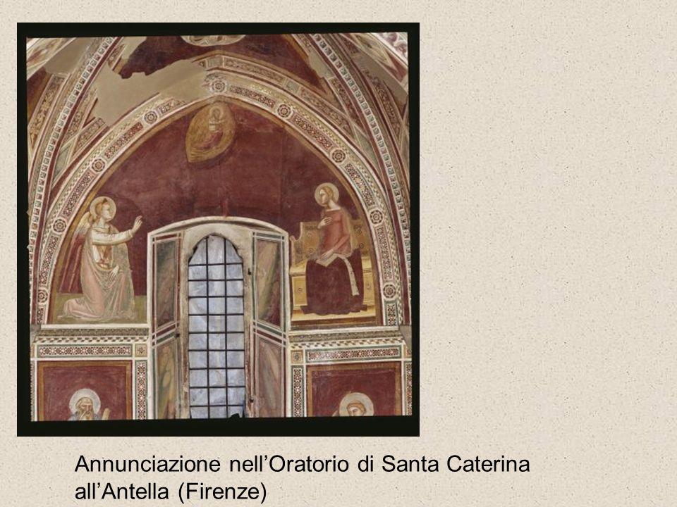 Annunciazione nell'Oratorio di Santa Caterina all'Antella (Firenze)