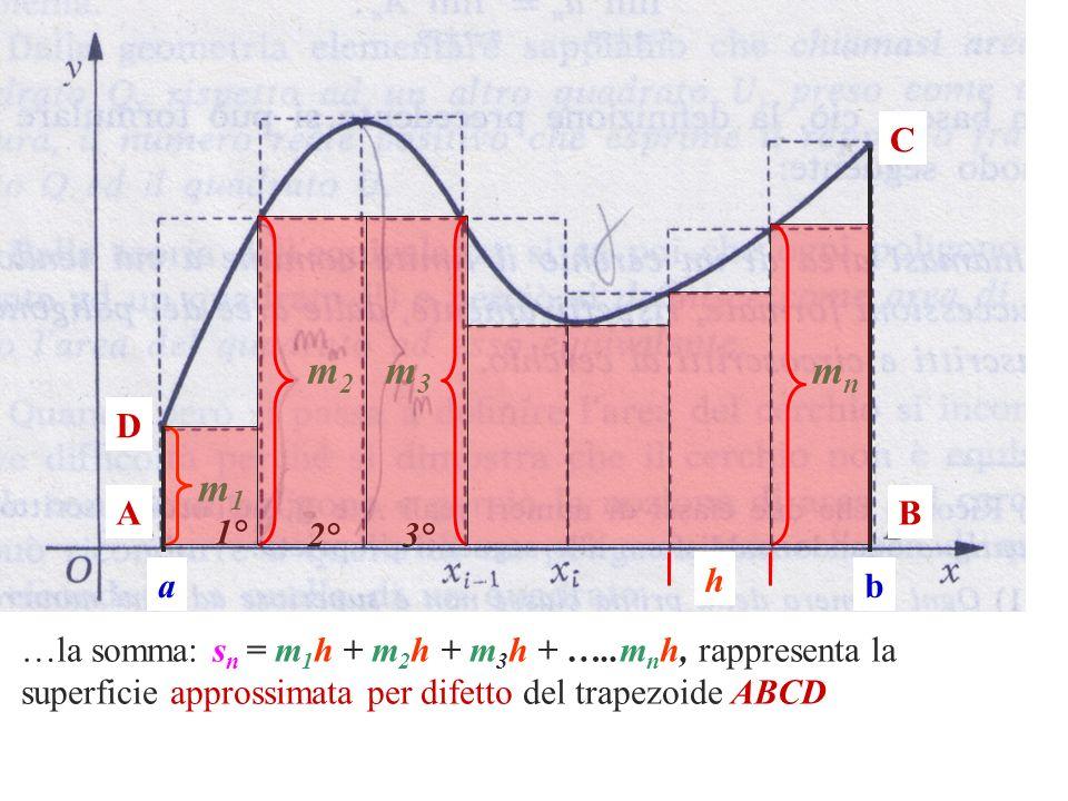 C m2. m3. mn. D. m1. A. B. 1° 2° 3° a. h. b.