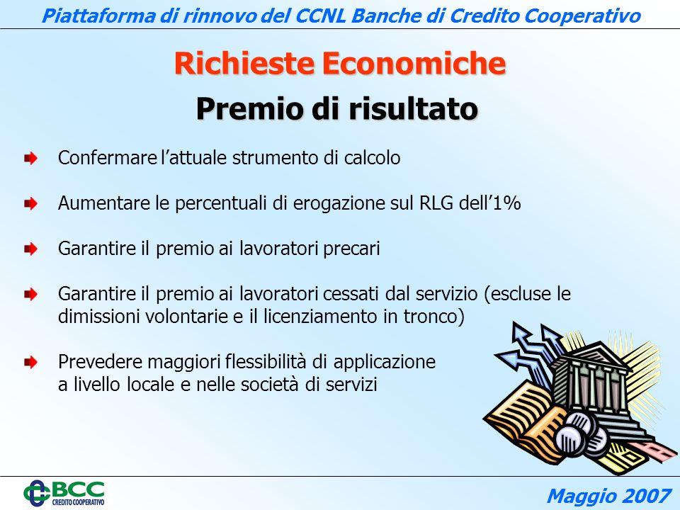 Richieste Economiche Premio di risultato