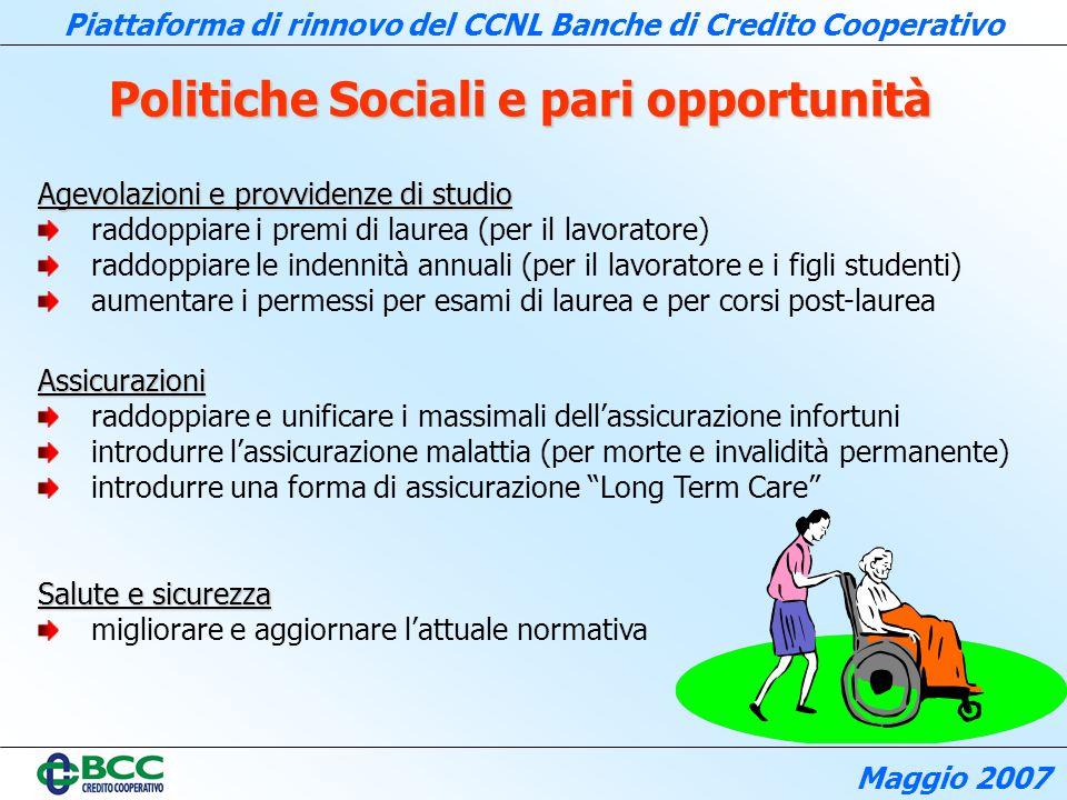 Politiche Sociali e pari opportunità