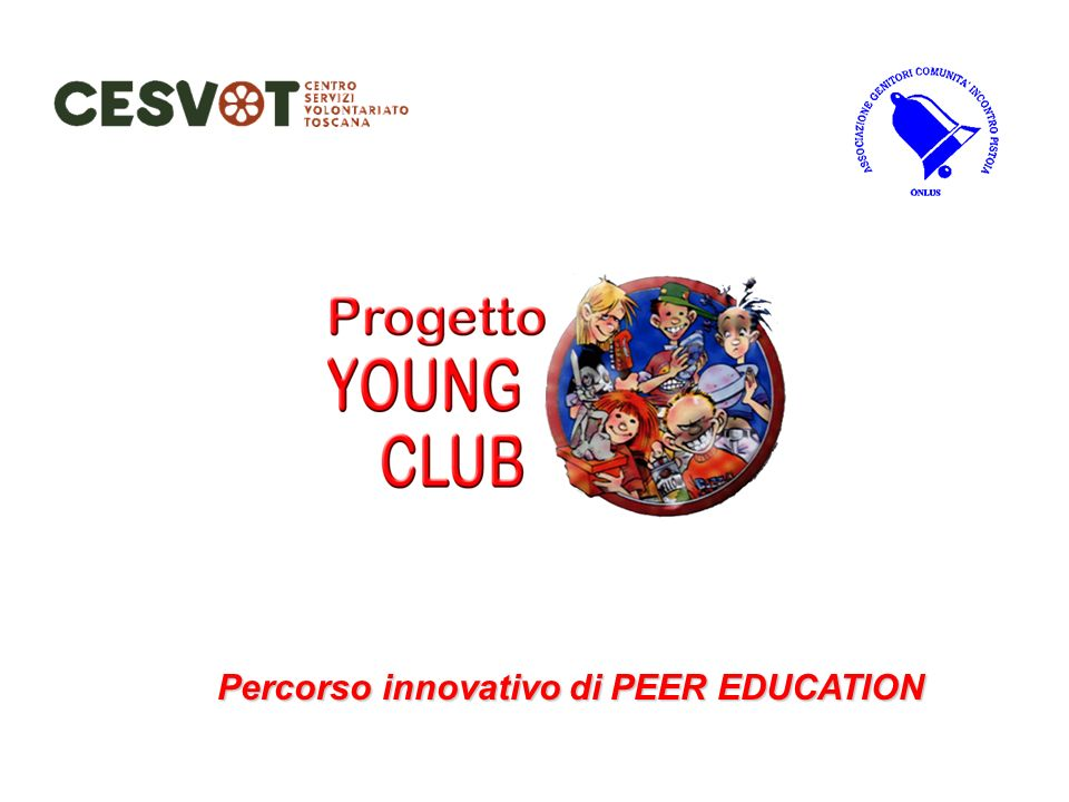Percorso innovativo di PEER EDUCATION
