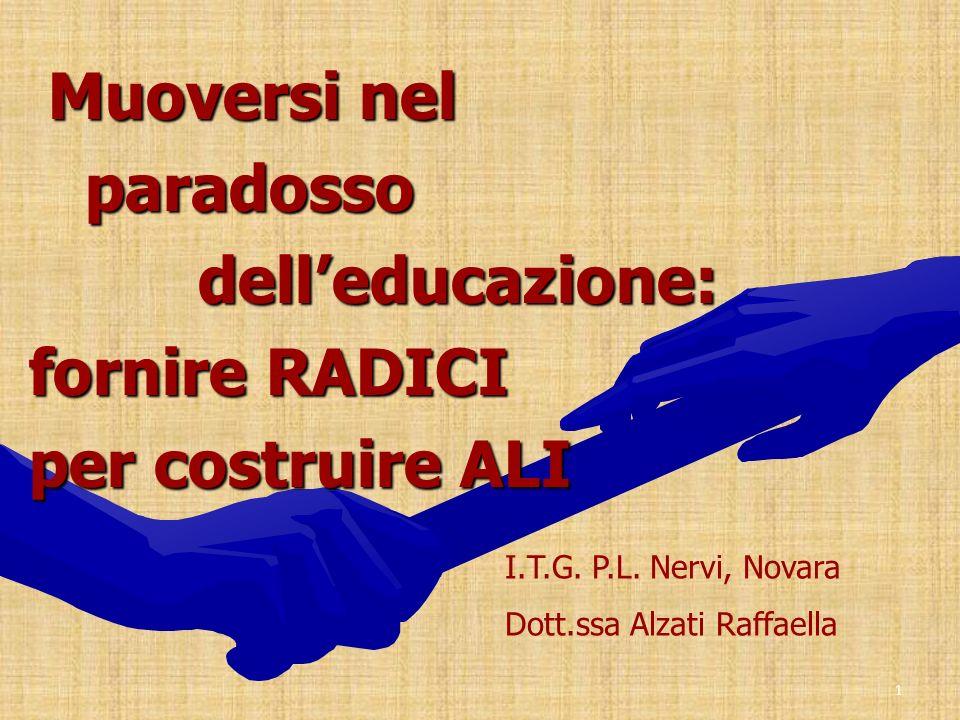Muoversi nel paradosso dell'educazione: fornire RADICI