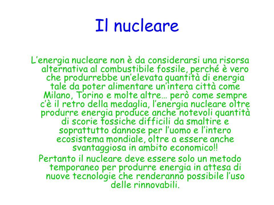 Il nucleare