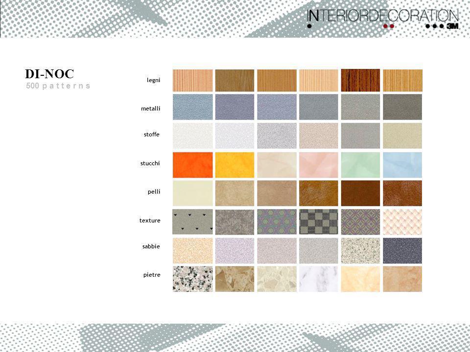 DI-NOC 500 p a t t e r n s legni metalli stoffe stucchi pelli texture