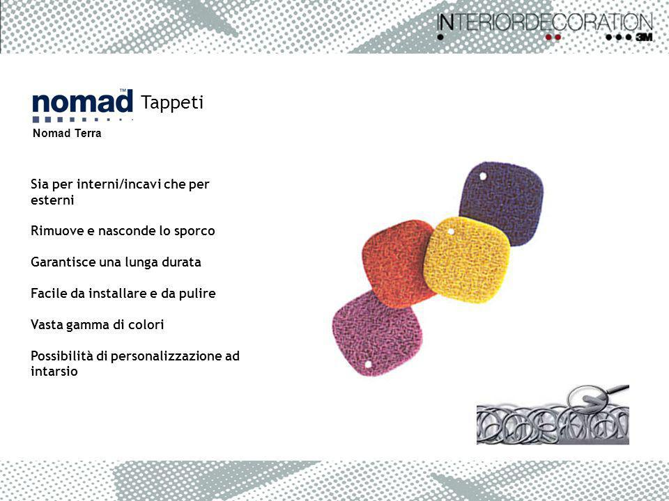Tappeti Nomad Terra Sia per interni/incavi che per esterni