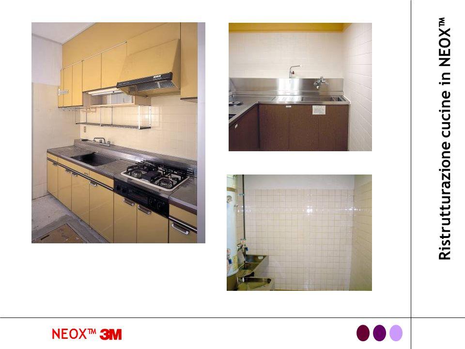 Ristrutturazione cucine in NEOX™