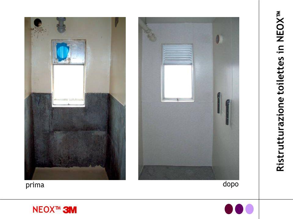 Ristrutturazione toilettes in NEOX™