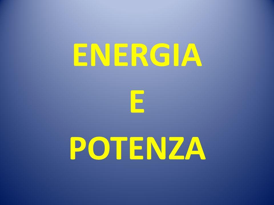 ENERGIA E POTENZA