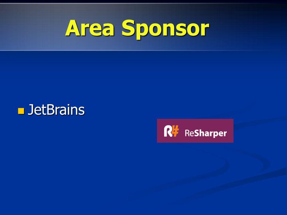 Area Sponsor JetBrains Area promozioni: