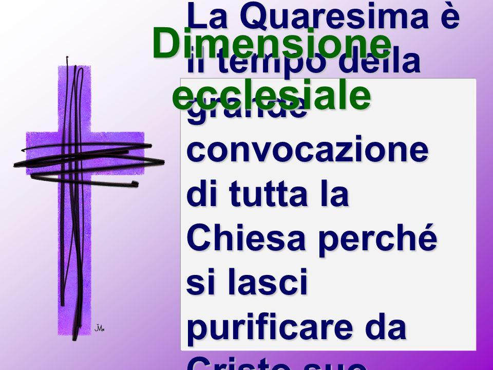 Dimensione ecclesiale