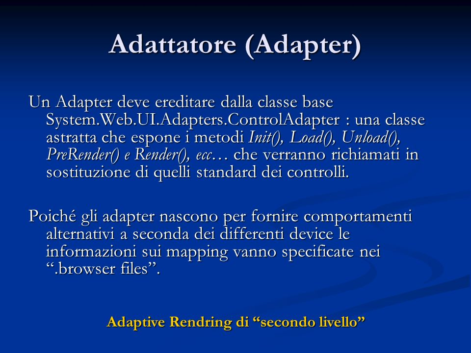 Adattatore (Adapter)