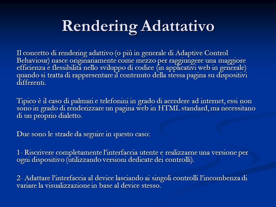 Rendering Adattativo