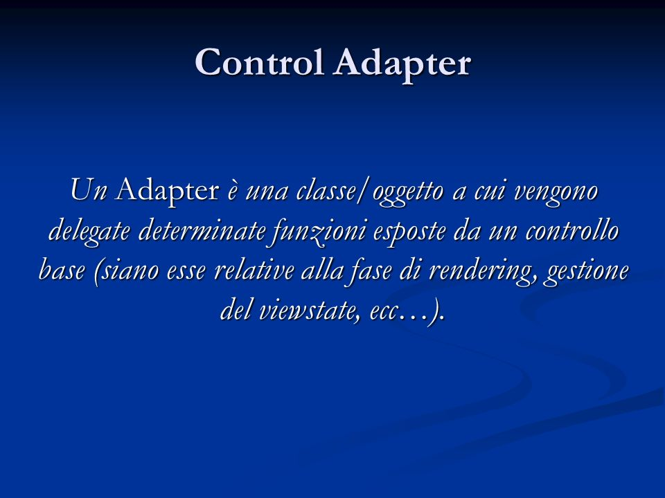 Control Adapter