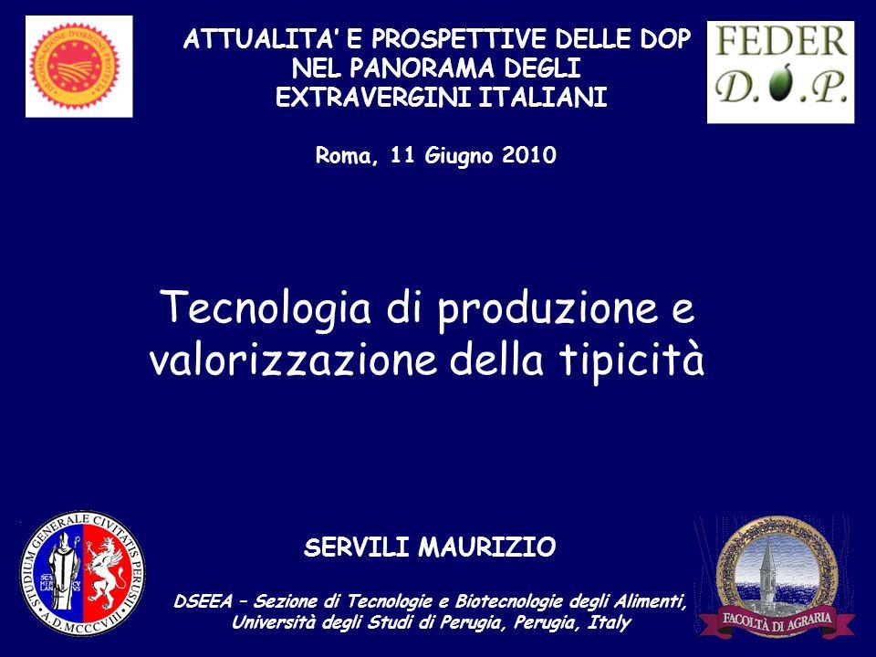 Tecnologia di produzione e valorizzazione della tipicità