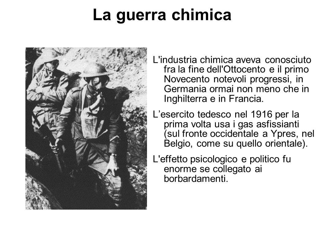 La guerra chimica