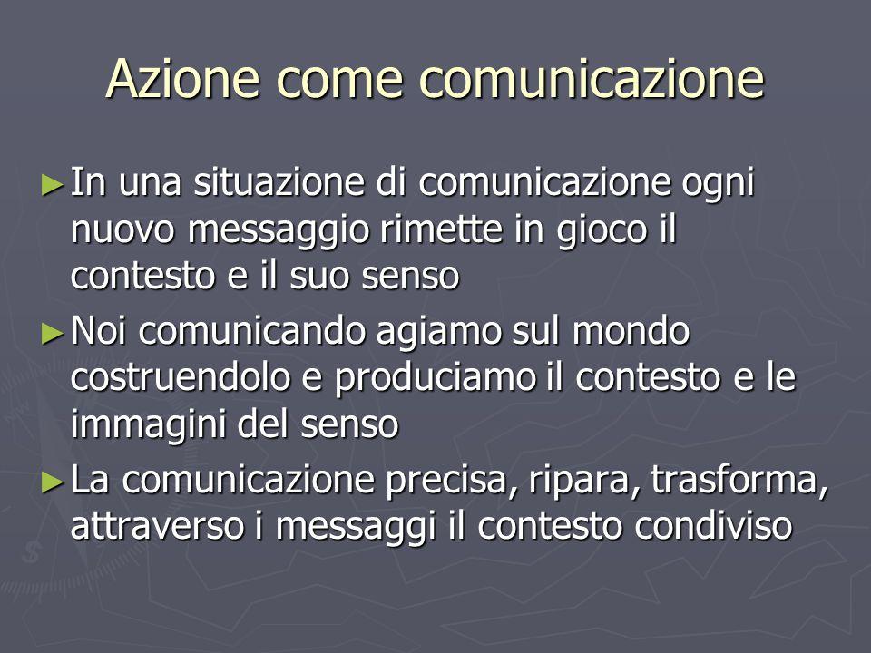 Azione come comunicazione