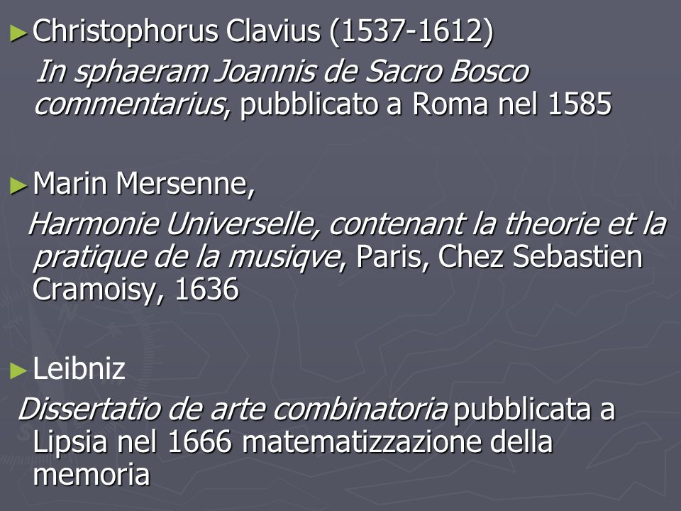 Christophorus Clavius (1537-1612)