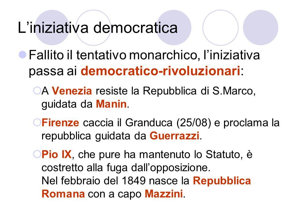 L'iniziativa democratica