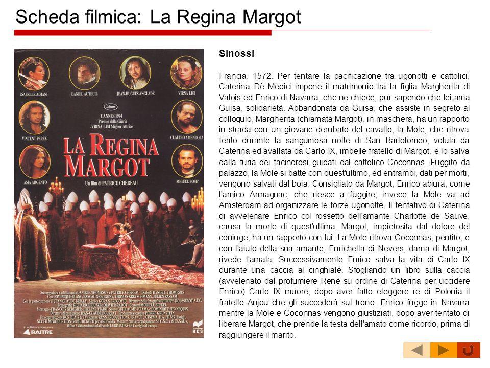 Scheda filmica: La Regina Margot