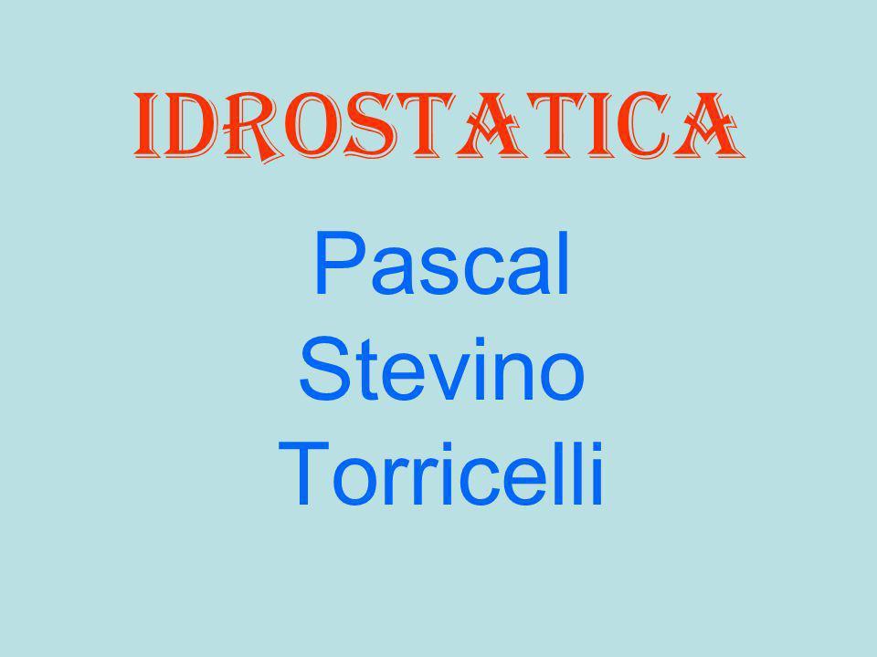 Pascal Stevino Torricelli