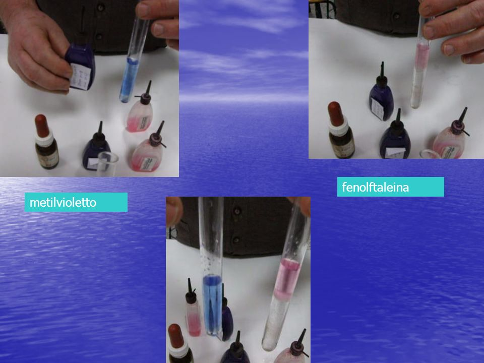 fenolftaleina metilvioletto