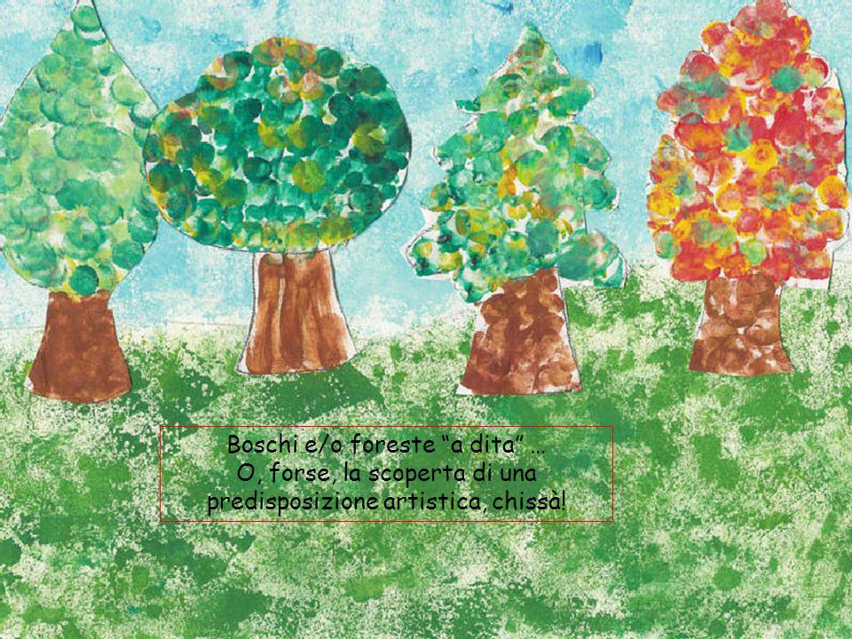 Boschi e/o foreste a dita …