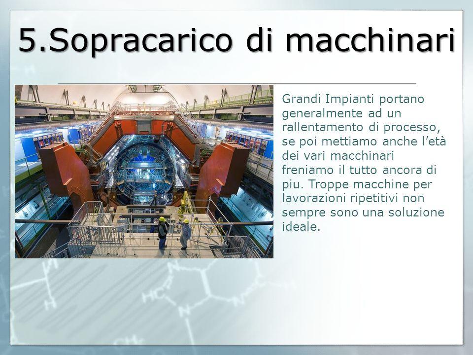 5.Sopracarico di macchinari