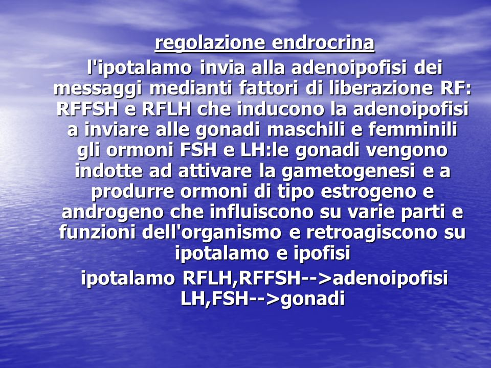 regolazione endrocrina