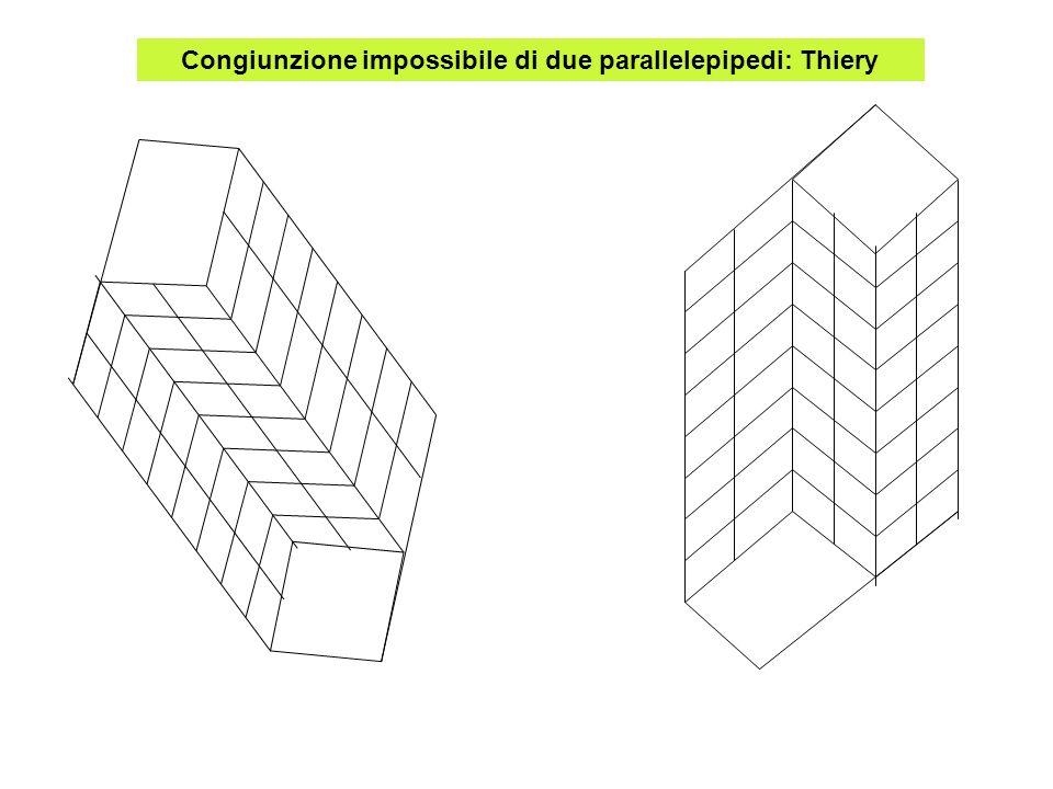 Congiunzione impossibile di due parallelepipedi: Thiery