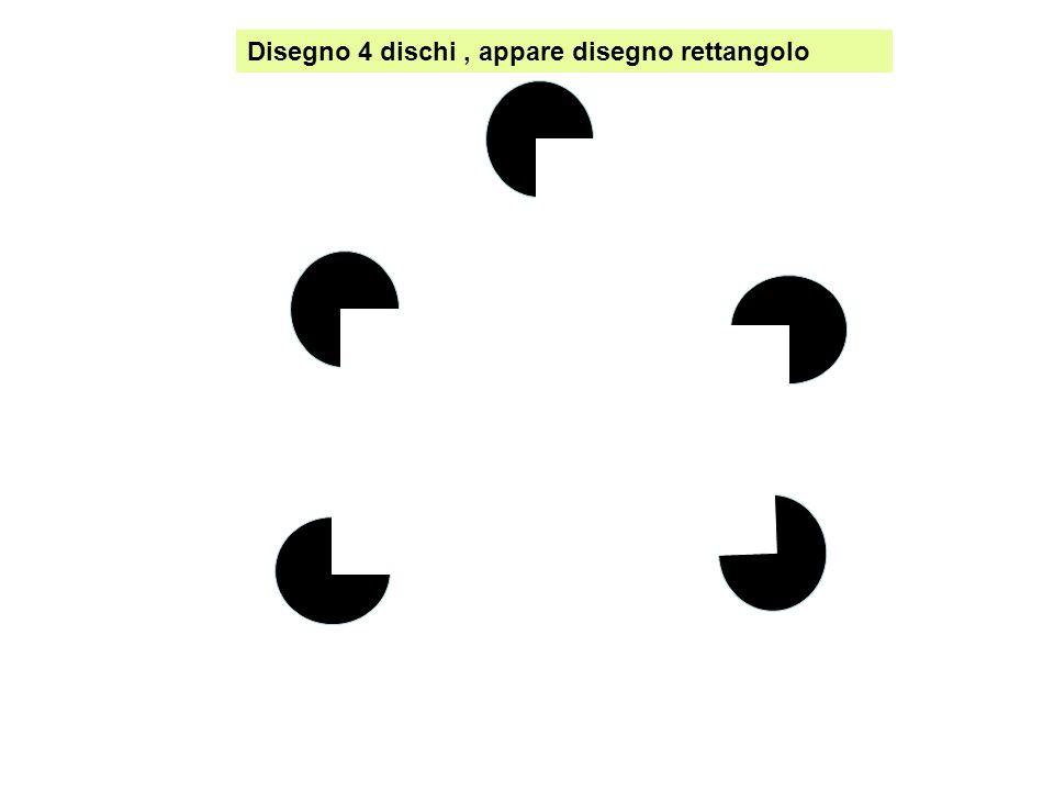 Disegno 4 dischi , appare disegno rettangolo