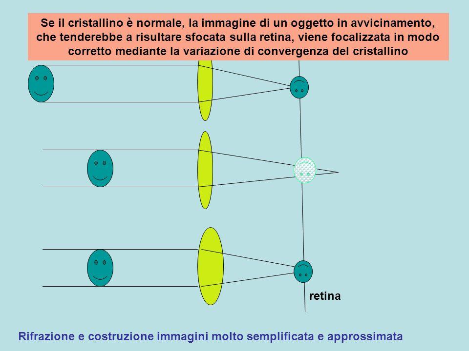 Rifrazione e costruzione immagini molto semplificata e approssimata