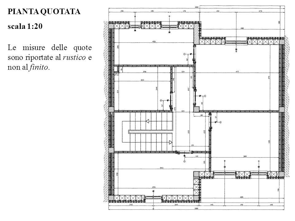 Pianta appartamento con misure idee creative di interni for Grande planimetria della camera singola storia