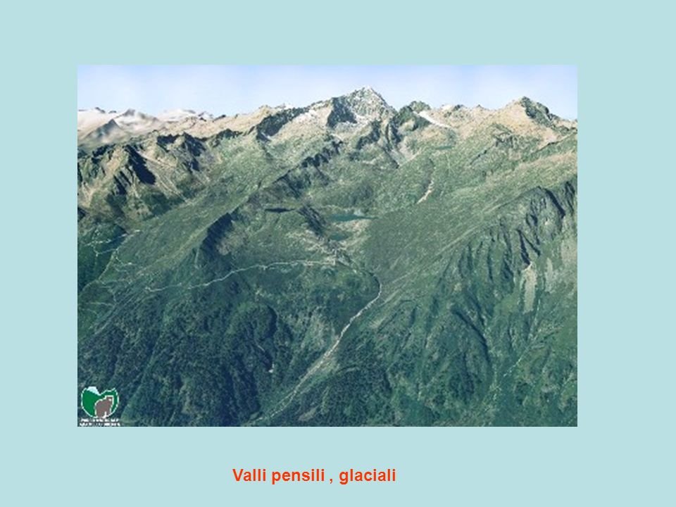 Valli pensili , glaciali