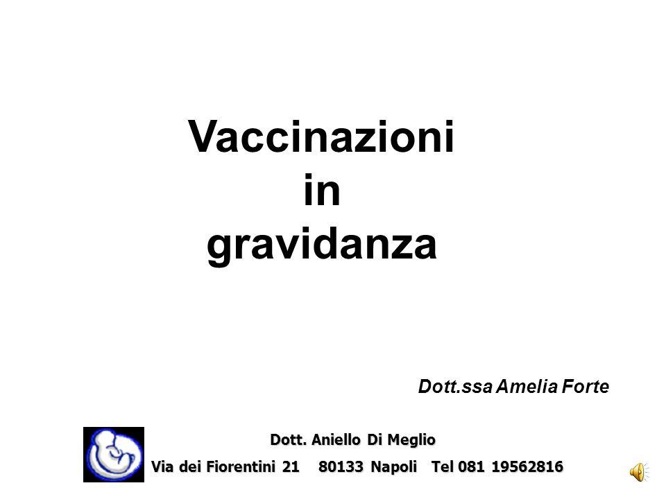 Vaccinazioni in gravidanza