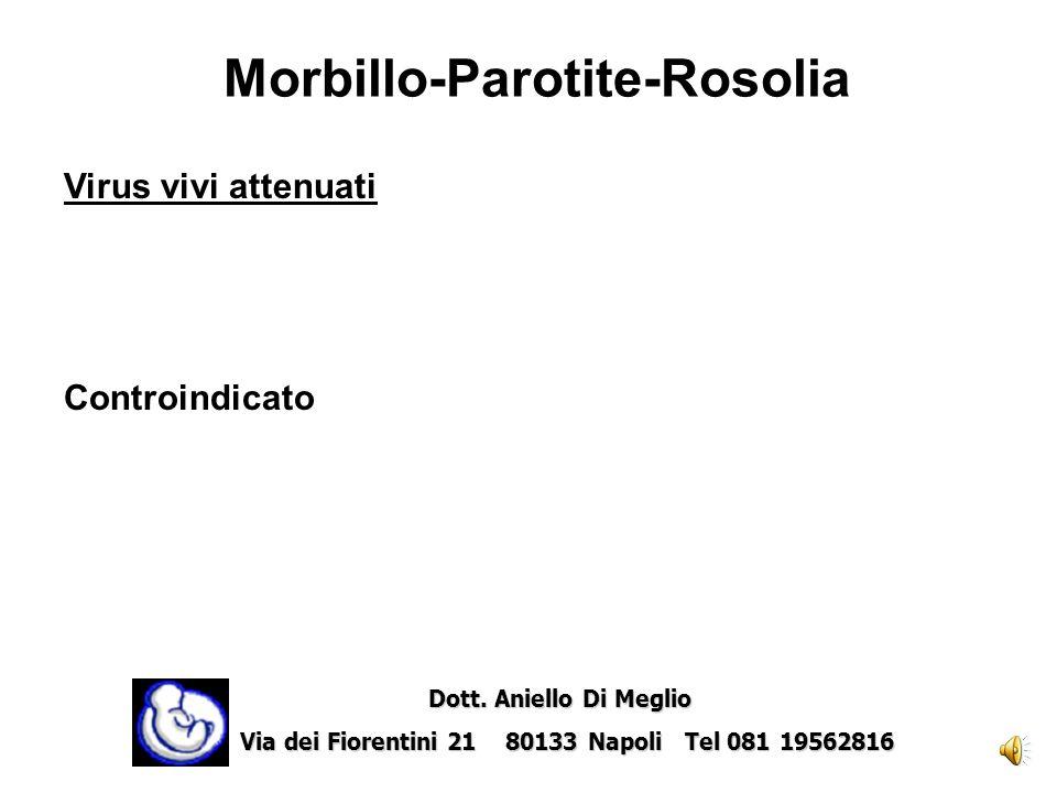 Morbillo-Parotite-Rosolia