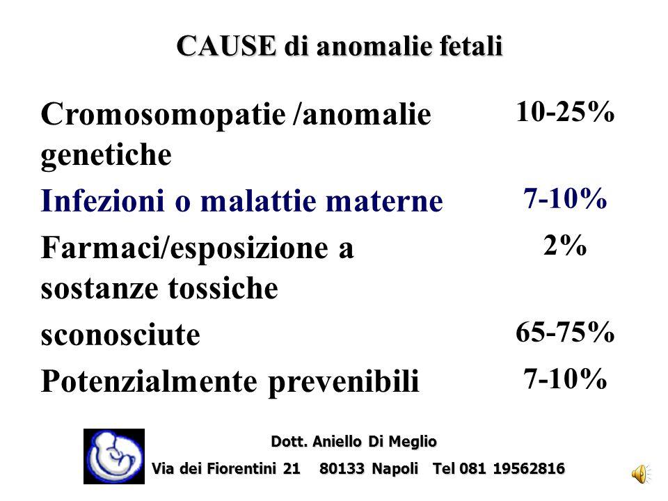 CAUSE di anomalie fetali