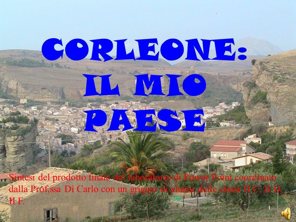 CORLEONE: IL MIO PAESE