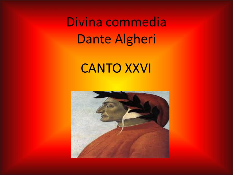 Divina commedia Dante Algheri